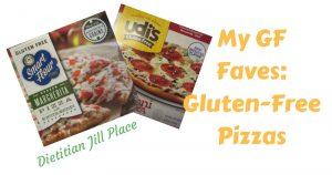 My GF Faves:  Gluten-Free Pizzas