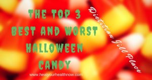 The Top 3 BEST and WORST Halloween Candy