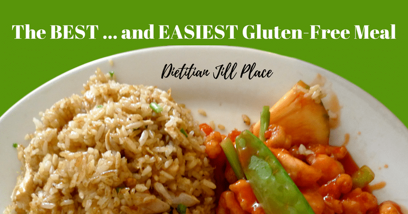 The BEST … and EASIEST Gluten-Free Meal