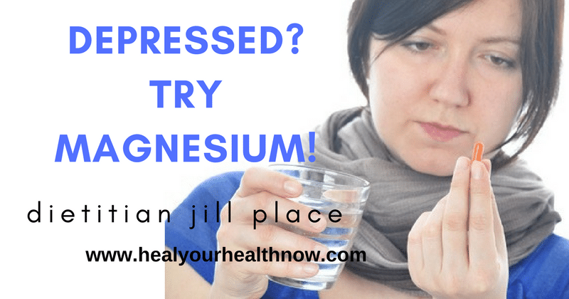 Depressed? Try Magnesium!