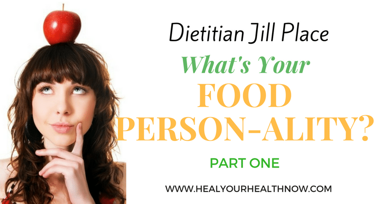 What's Your Eating Person-ality? Part One