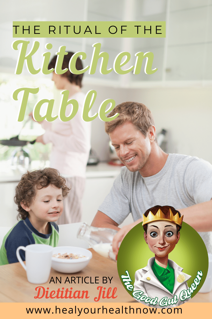 The Ritual of the Kitchen Table