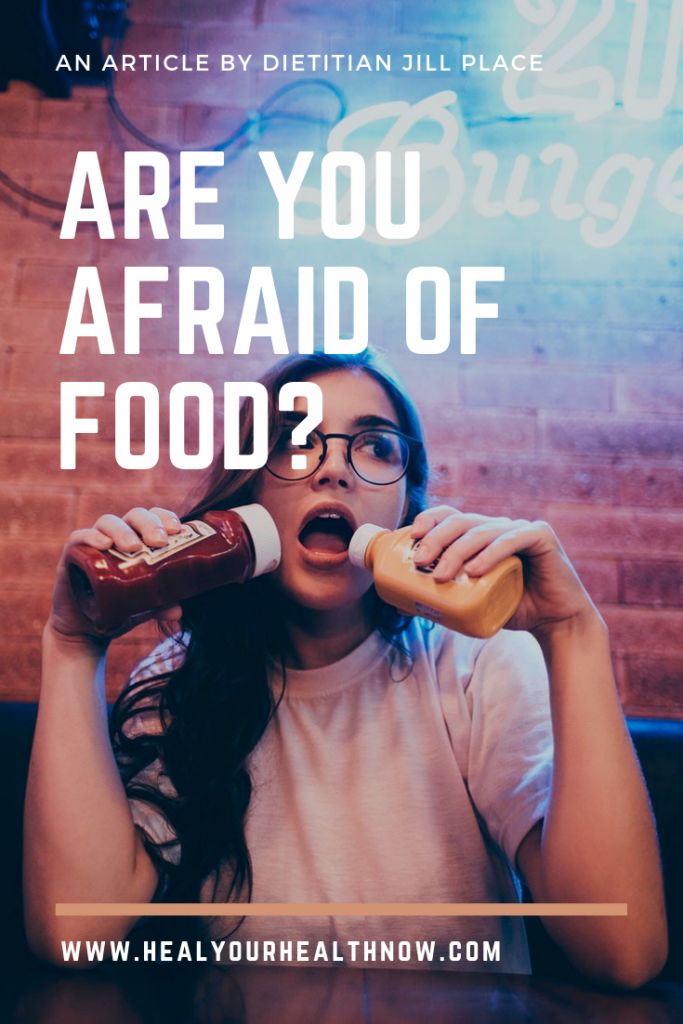 Are You Afraid of Food?