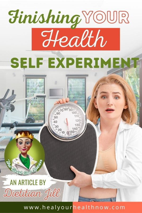 Finishing YOUR Health Self-Experiment