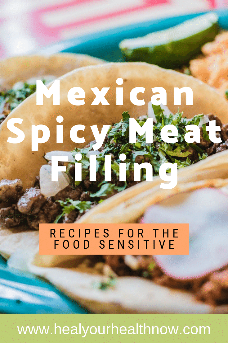 Mexican Spicy Meat (or Beyond Meat) Filling
