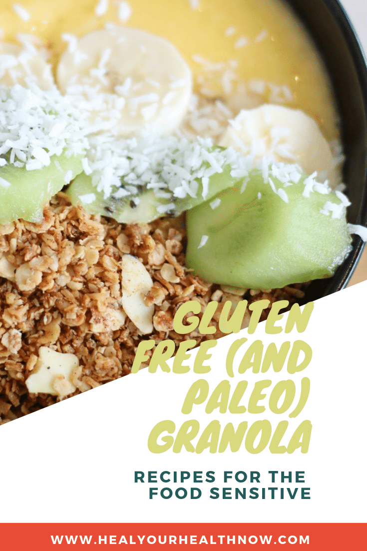 Gluten Free (and Paleo) Granola
