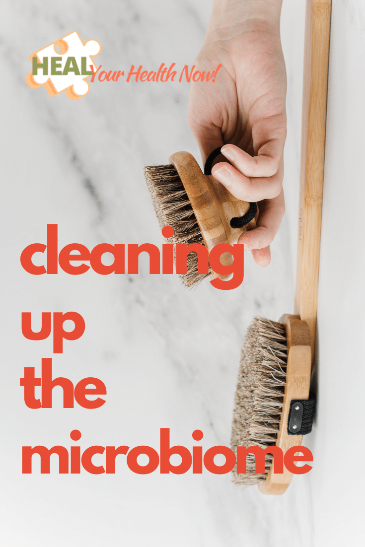 Cleaning Up the Microbiome
