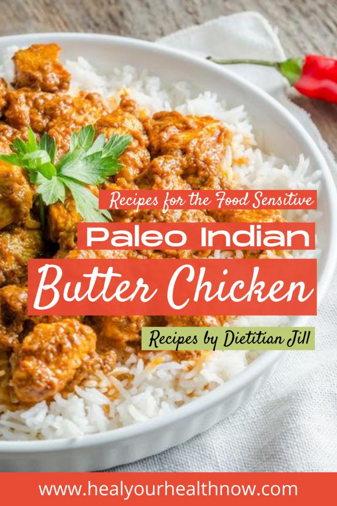 Paleo Indian Butter Chicken