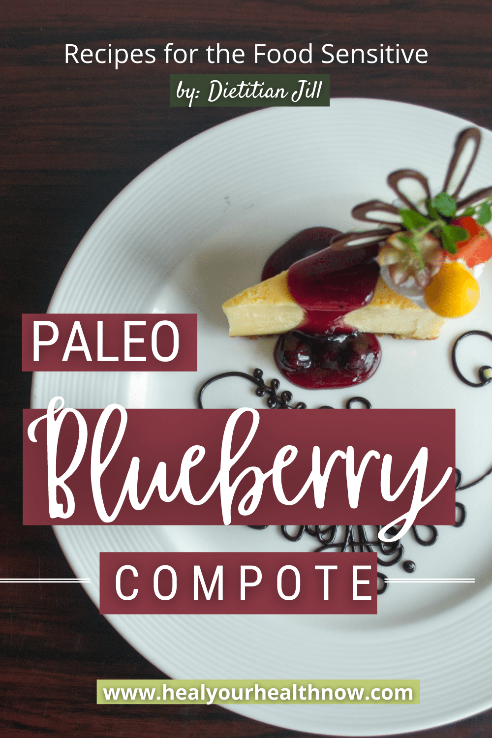 Paleo Blueberry Compote