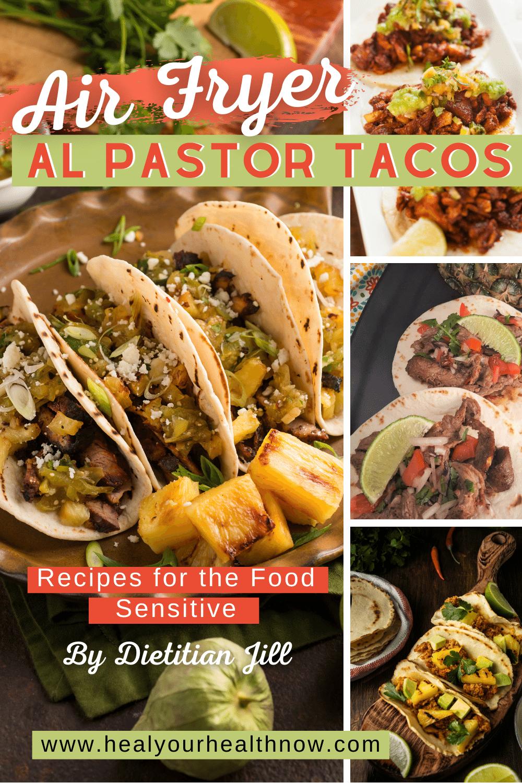 Air Fryer Al Pastor Tacos