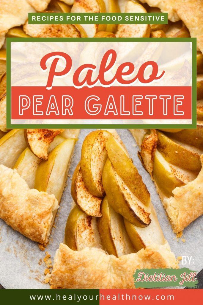 Paleo Apple Galette