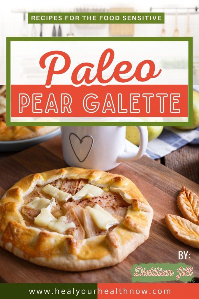 Paleo Pear Galette