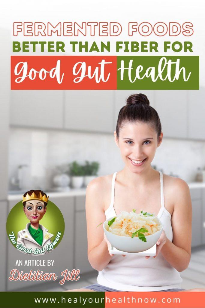 Fermented Foods Better than Fiber for Good Gut Health